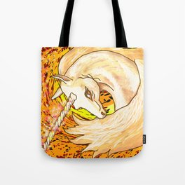 Otherworld Unicorns 6: Autumn Ether Tote Bag
