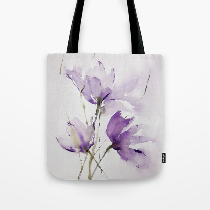wilted tulips Tote Bag