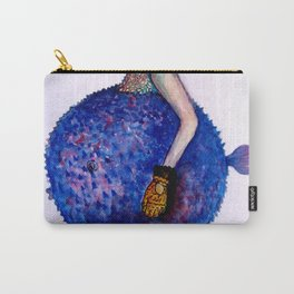 fish girl Carry-All Pouch