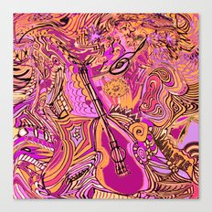 Dance to the Music Canvas Print