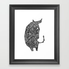 COW Framed Art Print