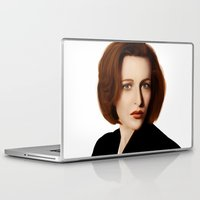 scully Laptop & iPad Skins featuring Scully by Alexia Rose