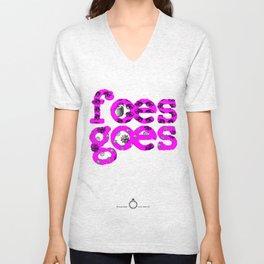 Tshirts for summer. Foes Goes Unisex V-Neck