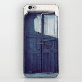 Santorini Door I iPhone Skin