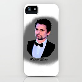 matthew bellamy 006 iPhone Case