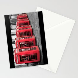 The Phone Boxes  Stationery Cards