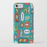sayings iPhone & iPod Cases featuring super heros sayings by  Alexia Miles photography