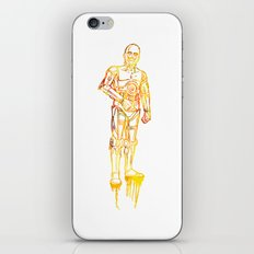 C3PO iPhone & iPod Skin