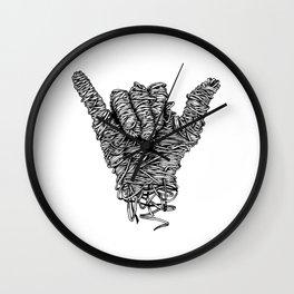 Hang Loose Shaka Wall Clock