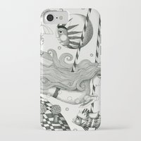 lake iPhone & iPod Cases featuring East of Blue Lake by Judith Clay