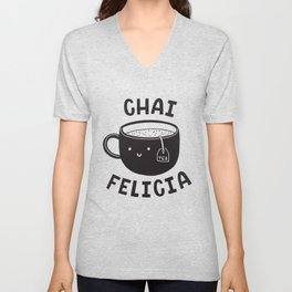 Chai Felicia Unisex V-Neck