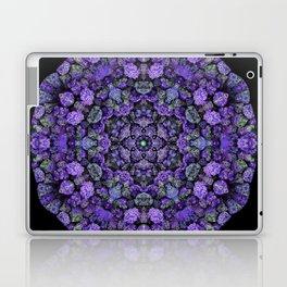 Purple Lava Rock Mandala Laptop & iPad Skin