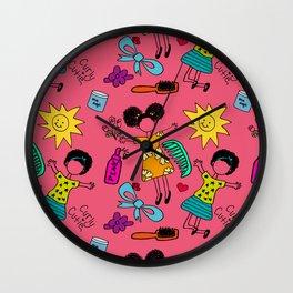 Happy Nappy Wall Clock