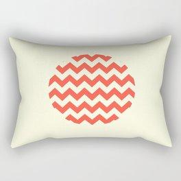 Chevron Full Circle Rectangular Pillow