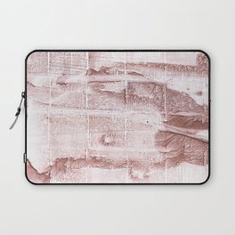Rosy brown blurred watercolor pattern Laptop Sleeve