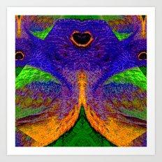 Internal Kaleidoscopic Daze- 12 Art Print