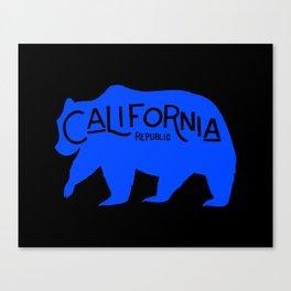 California Golden Bear Canvas Print