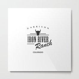 Iron River Ranch Metal Print