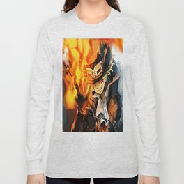 the power of fire on sabo Long Sleeve T-shirt