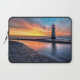 Lighthouse Sunset Laptop Sleeve