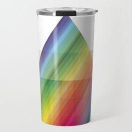 rainbow tringle Travel Mug