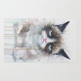 Grumpy Kitty Cat Rug