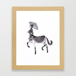 Victorian Centaur Framed Art Print