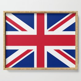 British Flag Serving Tray