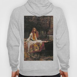 John William Waterhouse The Lady Of Shalott Hoody