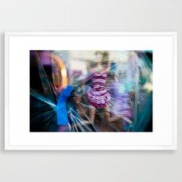 Plastic Trash Framed Art Print