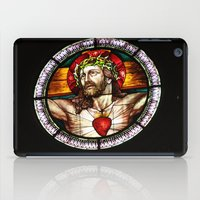 jesus iPad Cases featuring Jesus by Gaby Mabromata