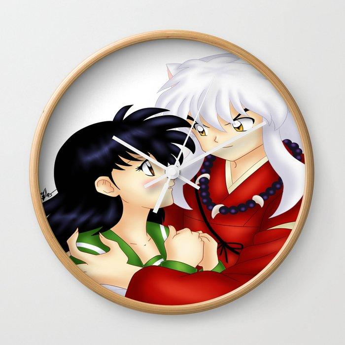 Inuyasha Love Wall Clock By Harushadows