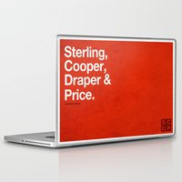 mad men Laptop & iPad Skins featuring Mad Men | Sterling, Cooper, Draper & Price by Armando Medina