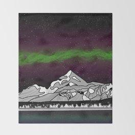 Mount Saint Elias Throw Blanket