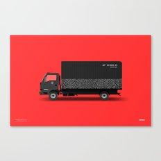 Sneaker Box Truck / BX1985-23 Canvas Print