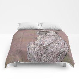 Gray Langur Monkey Comforters
