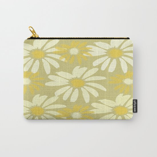 Daisy Delight Carry-All Pouch