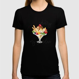 You're The Cherry Atop My Sundae Matching Couple Shirts Valentines Day T-shirt