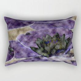 Different Water Lily  Rectangular Pillow