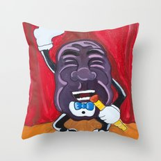 My Husband's Raisin Throw Pillow