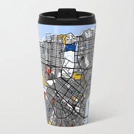 New orleans Mondrian Travel Mug