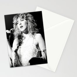 Fleetwoo-d Mac Stevie Nicks Rumours Tour 1970's approx Rare Uk Poster and Wooden Poster Hanging Kit Included Stationery Cards