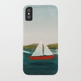 The Boat that Wants to Float iPhone Case