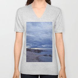 Funnel Cloud and the Coast Unisex V-Neck