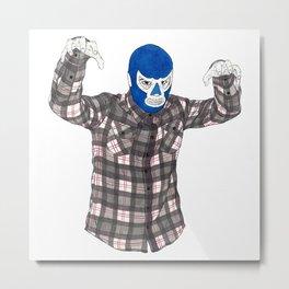 Lumberjack Jack Metal Print
