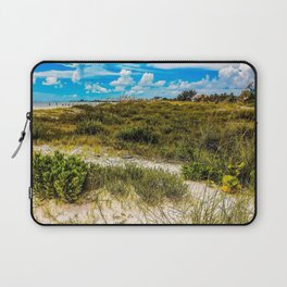 Florida Beach Greens Laptop Sleeve