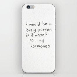 hormones iPhone Skin