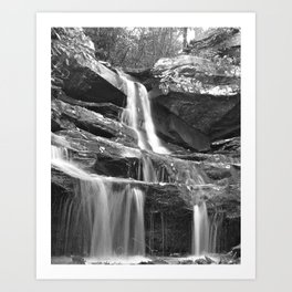 Hidden Falls Art Print