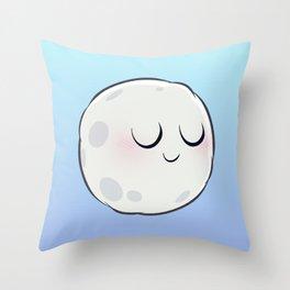 Moon. Throw Pillow