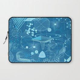 Science Schemes Pattern Laptop Sleeve